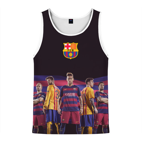 Мужская майка 3D ФК Барселона