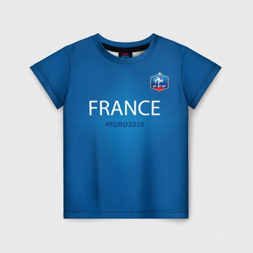 Детская футболка 3D Сборная Франции 2016