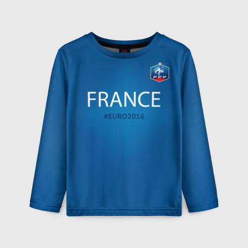 Детский лонгслив 3D Сборная Франции 2016