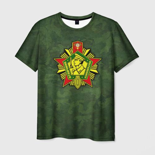 Мужская футболка 3D Отличник погранвойск