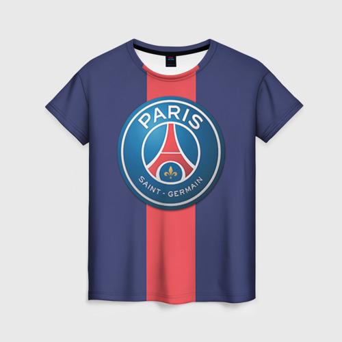 Женская футболка 3D Пари Сен-Жермен
