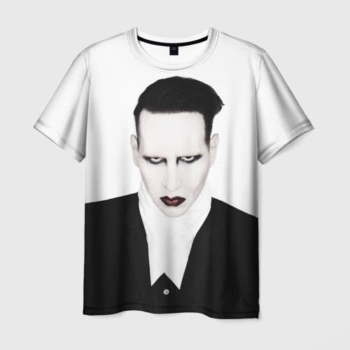 Мужская футболка 3D Мэрилин Мэнсон