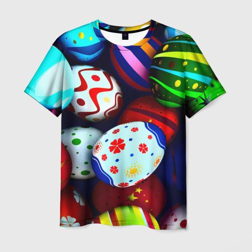 Мужская футболка 3D Пасха