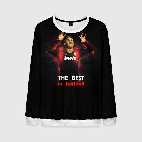 Мужской свитшот 3D The best in football