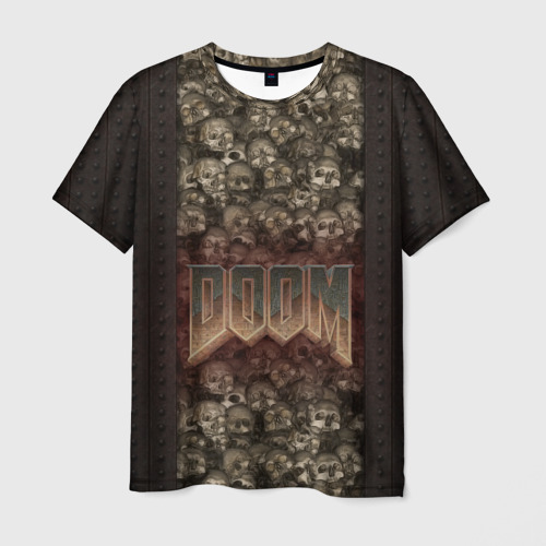 Мужская футболка 3D Doom classik 2