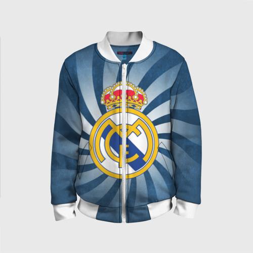 Детский бомбер 3D Реал Мадрид
