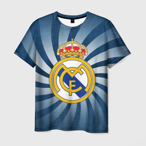 Мужская футболка 3D Реал Мадрид