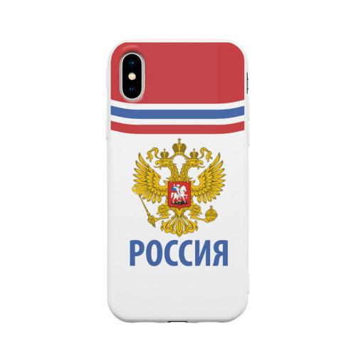 Чехол для iPhone X матовый Путин