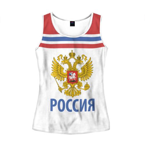 Женская майка 3D Путин