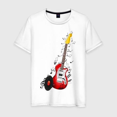 Мужская футболка хлопок Бас-гитара