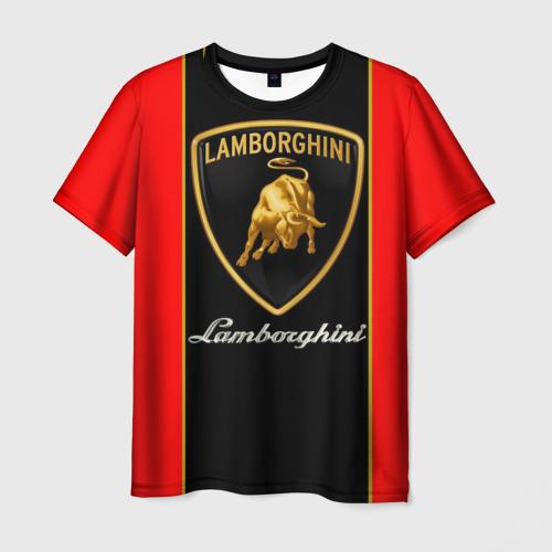 Мужская футболка 3D Lamborghini