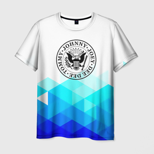 Мужская футболка 3D Ramones 7