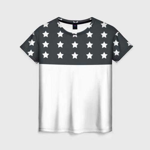 Женская футболка 3D Stars