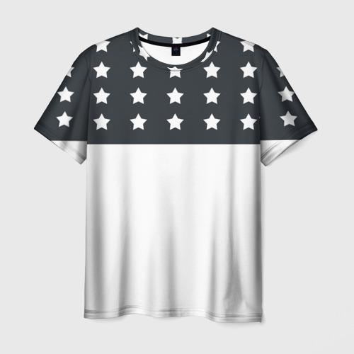 Мужская футболка 3D Stars