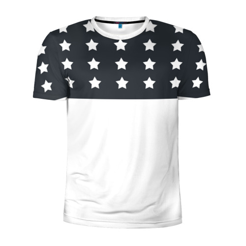 Мужская футболка 3D спортивная Stars