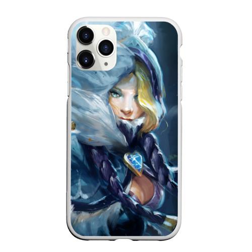 Чехол для iPhone 11 Pro Max матовый Crystal Maiden