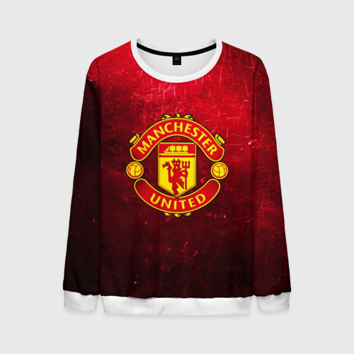 Мужской свитшот 3D Манчестер Юнайтед