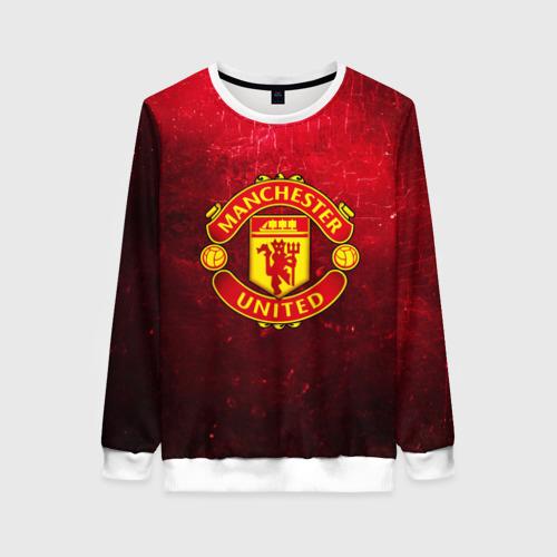 Женский свитшот 3D Манчестер Юнайтед
