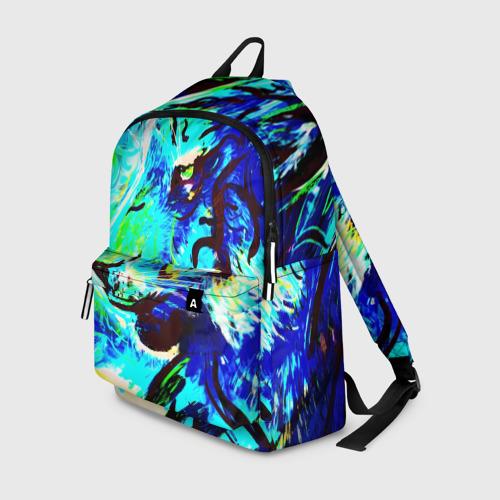 Рюкзак 3D Blue tiger