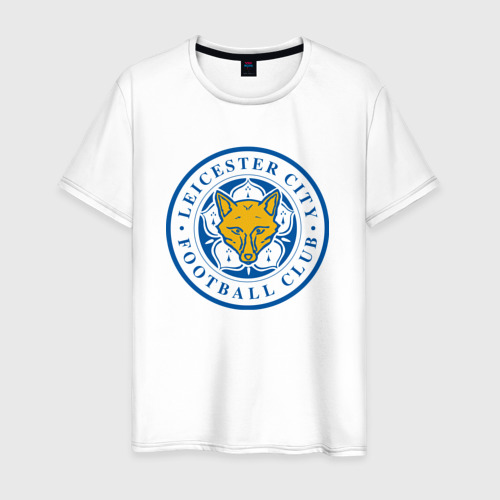 Мужская футболка хлопок Лестер Сити