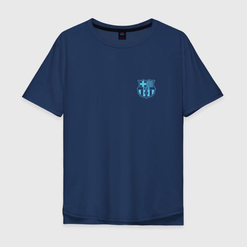 Мужская футболка хлопок Oversize Barcelona (Барселона)