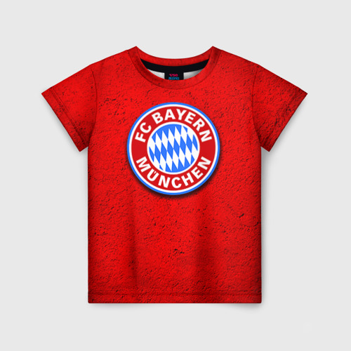 Детская футболка 3D Бавария лого