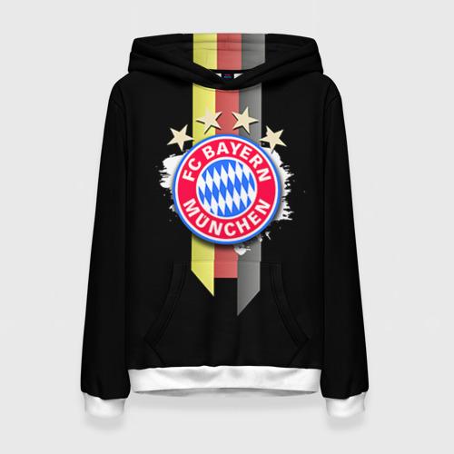 Женская толстовка 3D ФК Бавария