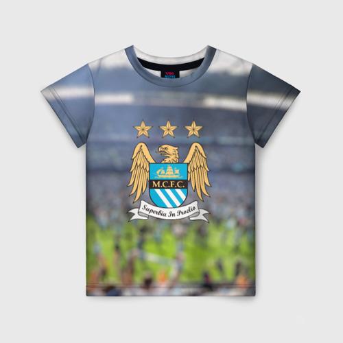 Детская футболка 3D Manchester city