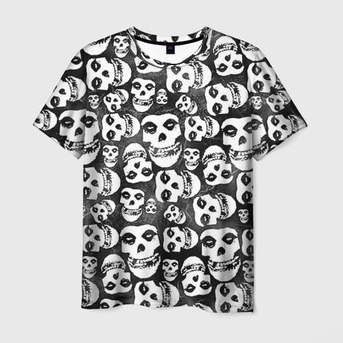 Мужская футболка 3D Misfits