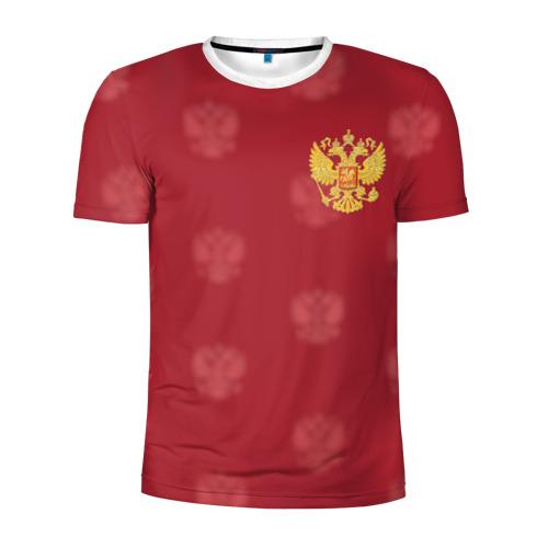 Мужская футболка 3D спортивная Сборная России по футболу