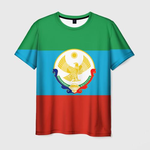 Мужская футболка 3D Дагестан