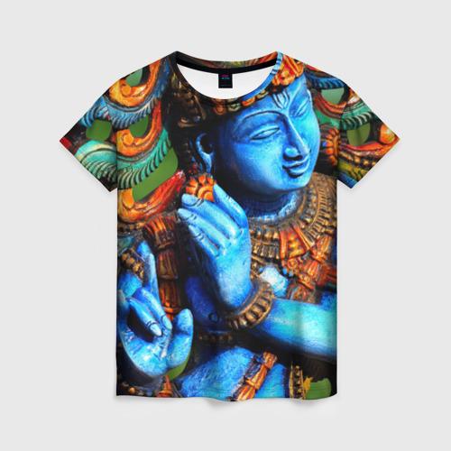 Женская футболка 3D Индия