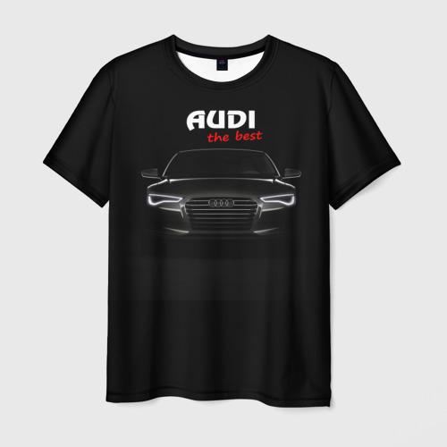 Мужская футболка 3D AUDI the best
