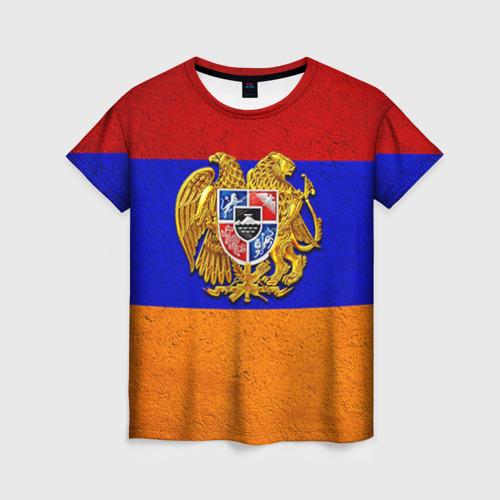 Женская футболка 3D Армения