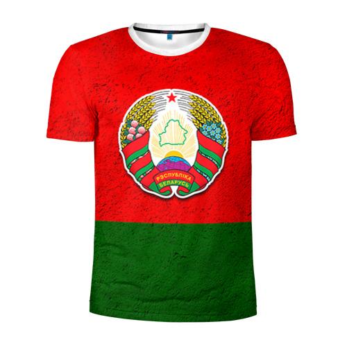 Мужская футболка 3D спортивная Белоруссия