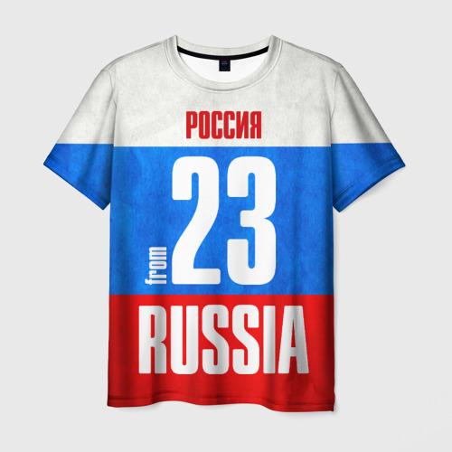 Мужская футболка 3D Russia (from 23)