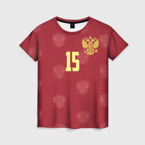 Женская футболка 3D Роман Широков