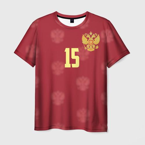 Мужская футболка 3D Роман Широков