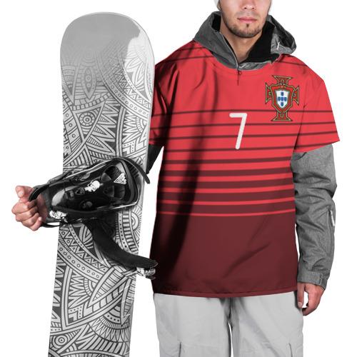 Накидка на куртку 3D Роналду сборная Португалии