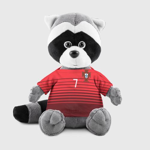 Енотик в футболке 3D Роналду сборная Португалии