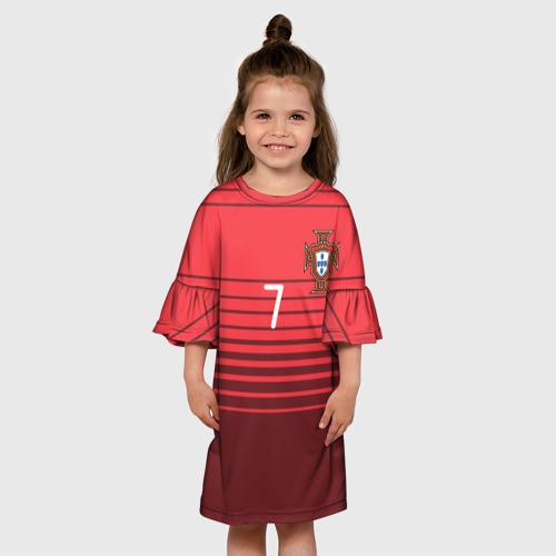 Детское платье 3D Роналду сборная Португалии