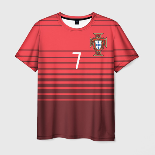 Мужская футболка 3D Роналду сборная Португалии