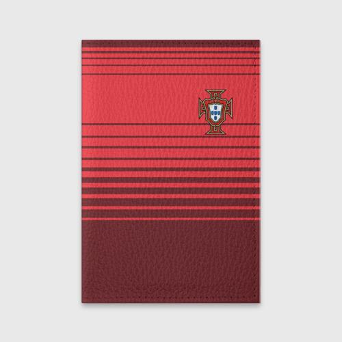 Обложка для паспорта матовая кожа Сборная Португалии по футболу