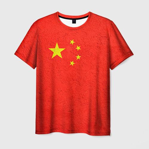 Мужская футболка 3D Китай