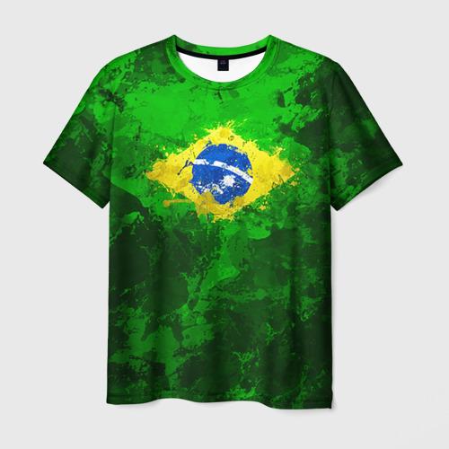 Мужская футболка 3D Бразилия