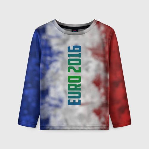 Детский лонгслив 3D Евро 2016 Франция