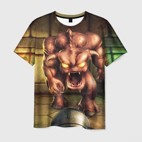 Мужская футболка 3D DOOM classic
