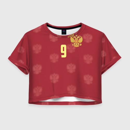 Женская футболка Crop-top 3D Александр Кокорин