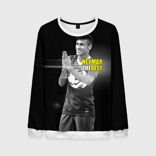 Мужской свитшот 3D Neymar the best