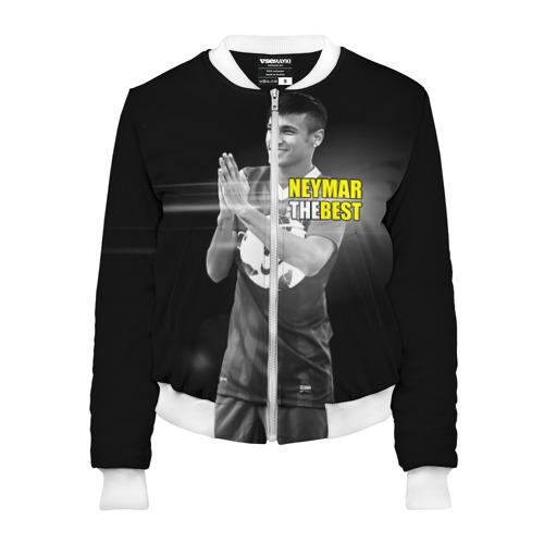 Женский бомбер 3D Neymar the best